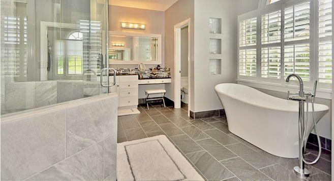 Master Bathroom Remodel Spring Archives Happy Haute Home - Bathroom remodels 2017