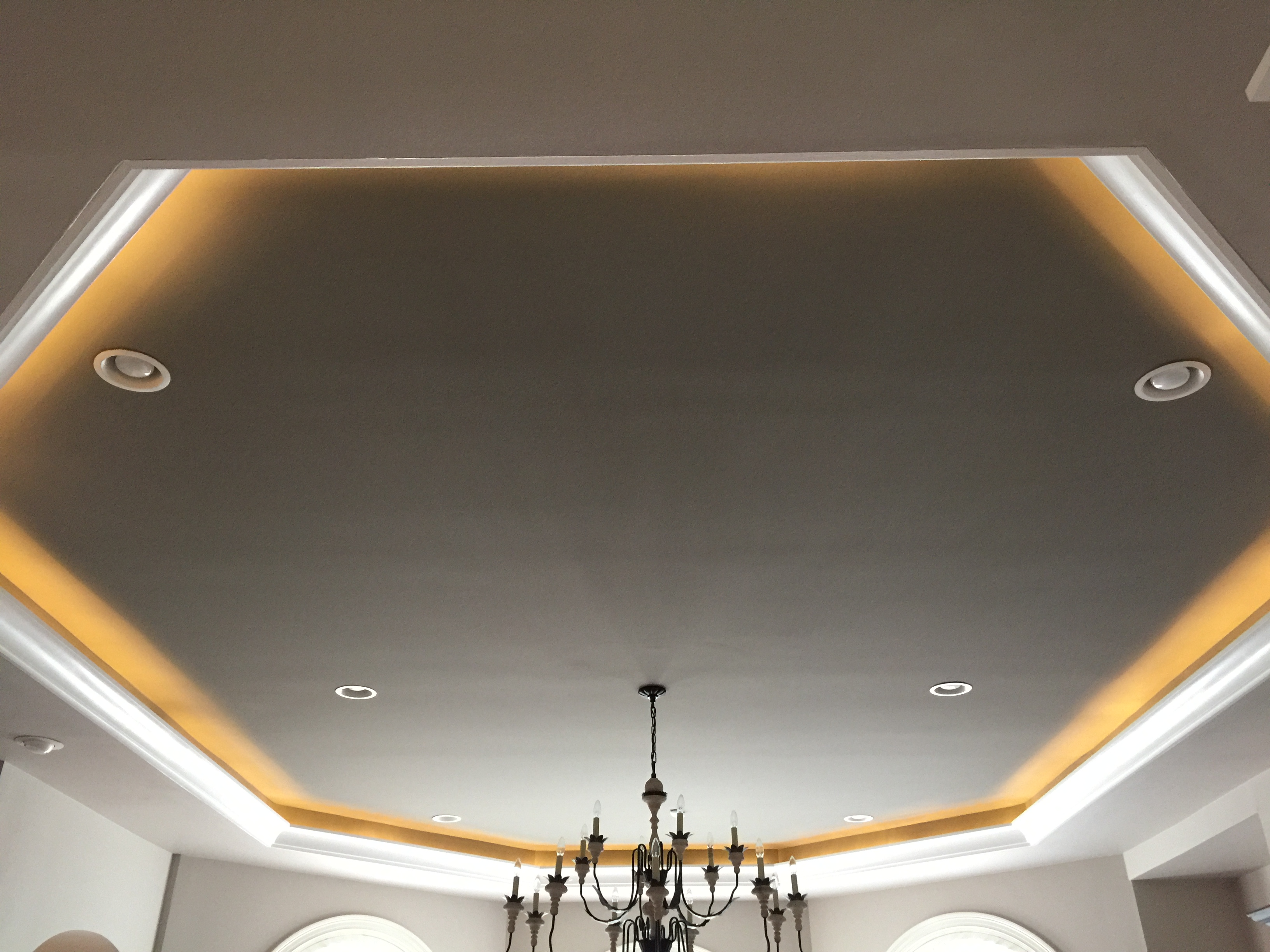 transitional ceiling molding cove lighting happy haute home
